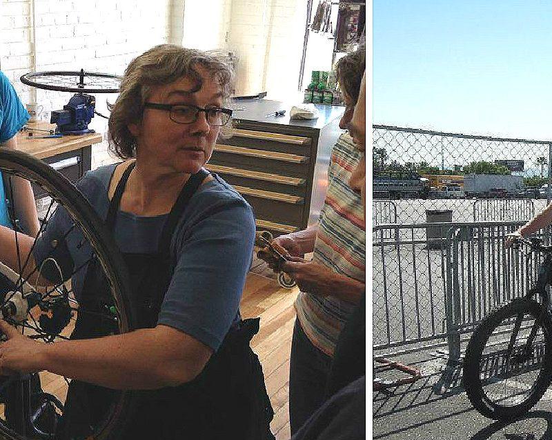 Denise Belzile: passionnée de mécanique vélo