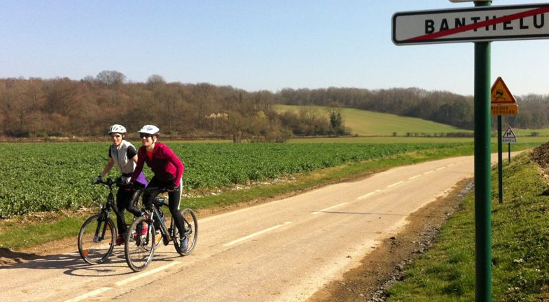 Fabienne et son vélo? C'est l'évasion garantie