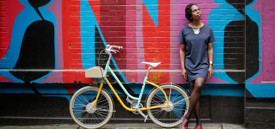"""""""Lady vélo"""", princesse du deux-roues"""