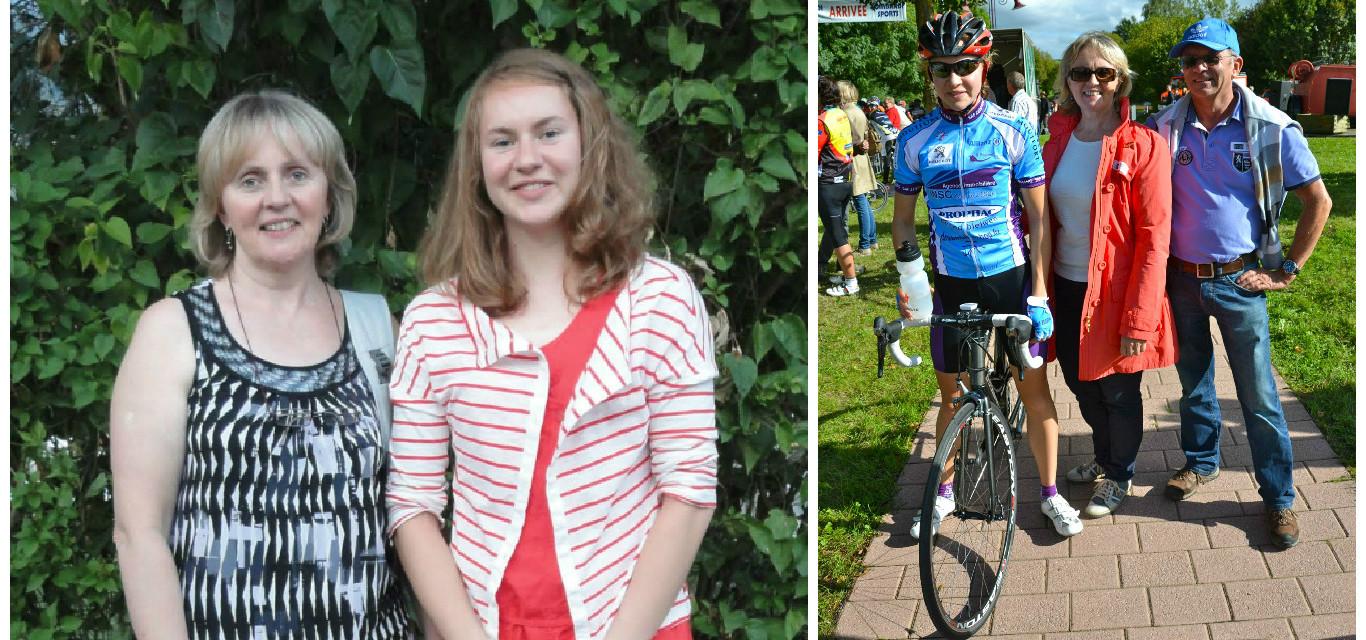 Championne cycliste: et le soutien des mamans dans tout ça?