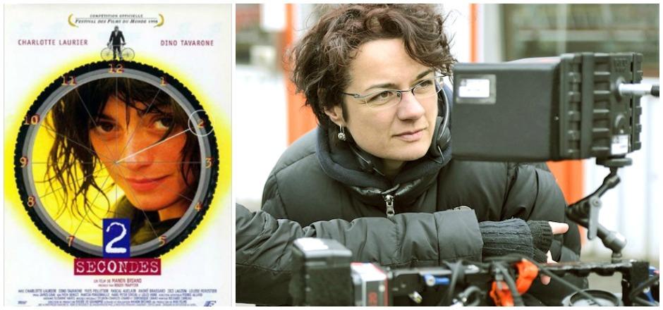 """Manon Briand, réalisatrice québécoise du film """"2 secondes"""", nous confie sa vision et son intention de créer un film où le vélo est star."""