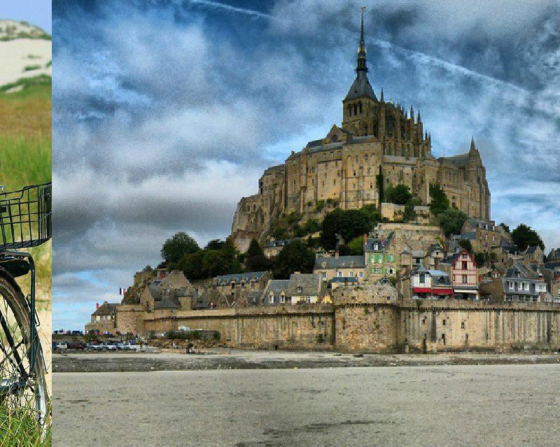 Escapade à vélo: routes de Bretagne et Mont-Saint-Michel