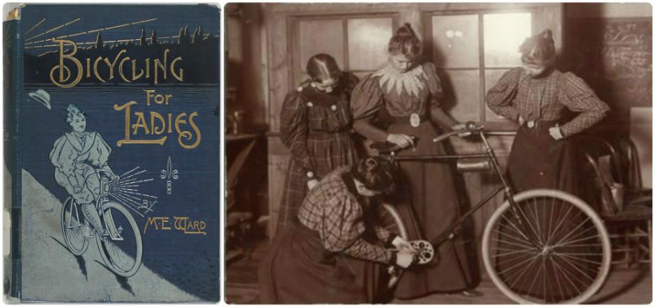 """Maria Ward, auteure du guide """"Des vélos pour les femmes"""", a aussi participé à l'émancipation de la gent féminine. Un outil qui a marqué l'histoire!"""