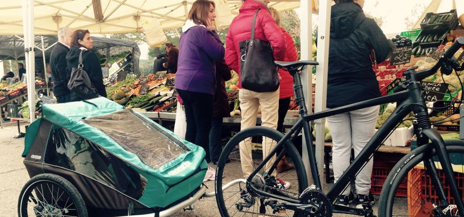 Quaxing or not #quaxing? De l'art de faire ses courses à vélo