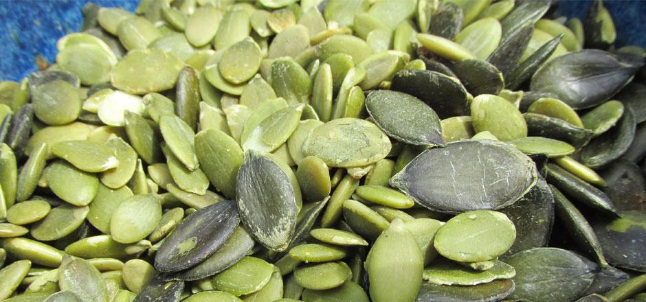Les bienfaits des graines de courge et ses dérivés