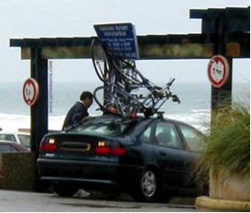 Les barres de toit pour transporter son vélo