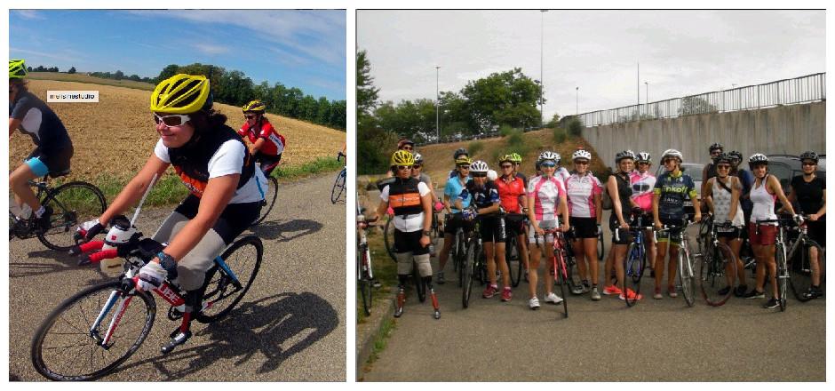 """Dimanche 26 juillet 2015 a eu lieu le """"Rapha Women 100"""" à Lyon. Revivez cette sortie cycliste mondiale au féminin, à travers les yeux de Laura!"""