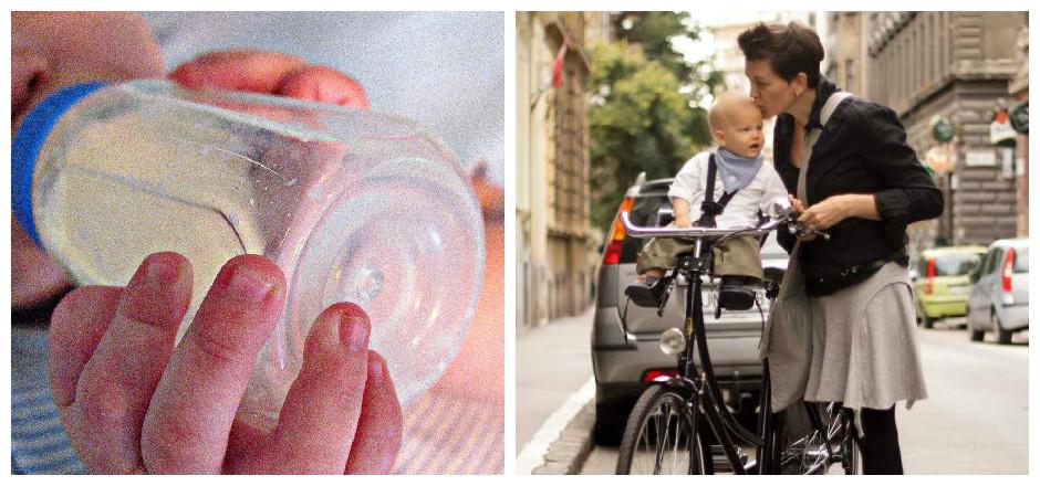 Quel rapport entre la pratique du vélo comme moyen de transport et l'allaitement maternel? Aucun, pensez-vous. Et pourtant ils ont de multiples points communs.