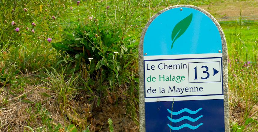 Mayenne à vélo