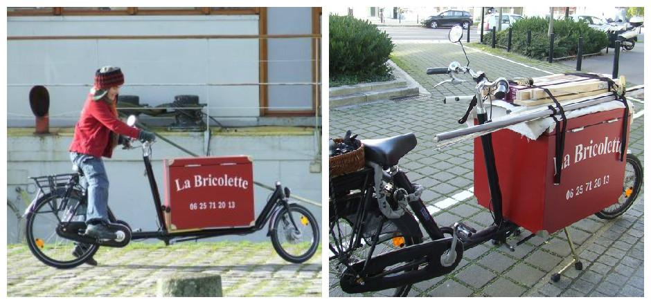 La Bricolette, le service de bricolage à domicile et à vélo!