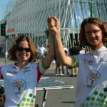 Élise et Denis, le premier duo « frère-sœur » participant au Sun Trip, sont arrivés en 10ème position! Une course à vélo solaire de 58 jours en famille!