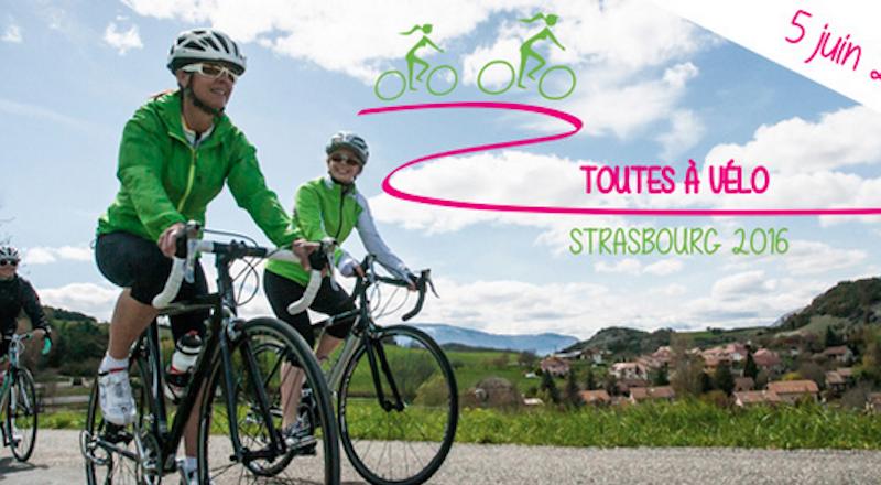 Toutes à vélo - Strasbourg 2016!