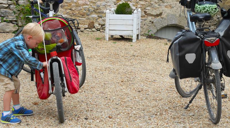Ce qui fait le succès de vacances à vélo avec un petiot?