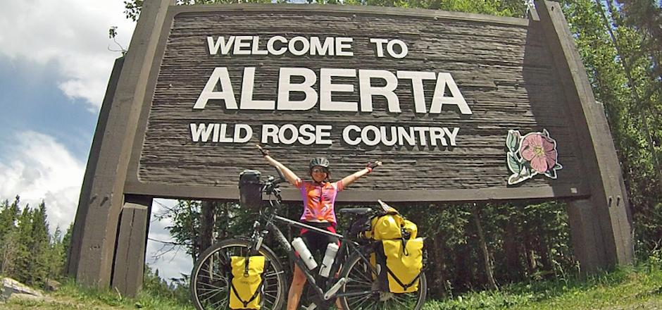 3 mois à parcourir le Canada à vélo: je me sens libre et vivante