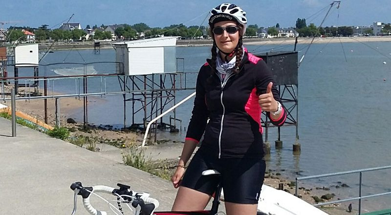 Eva Joly, et une cyclo-addict de plus, une!