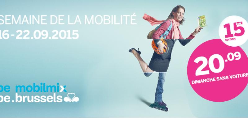 Une semaine de la mobilité à Bruxelles