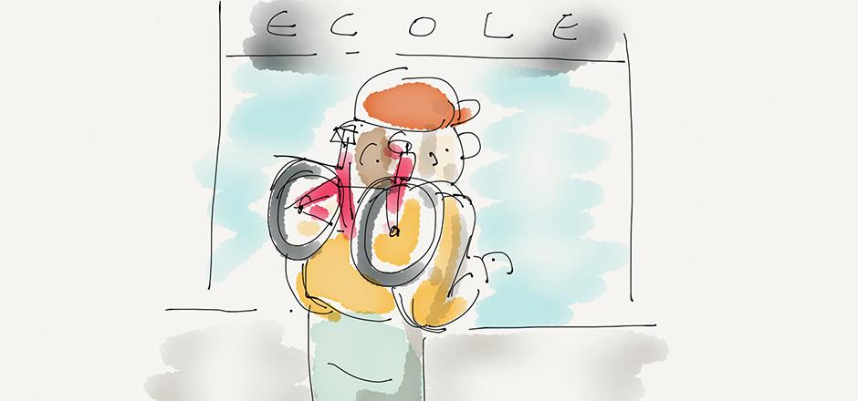 Nos conseils pour accompagner votre enfant à vélo à l'école