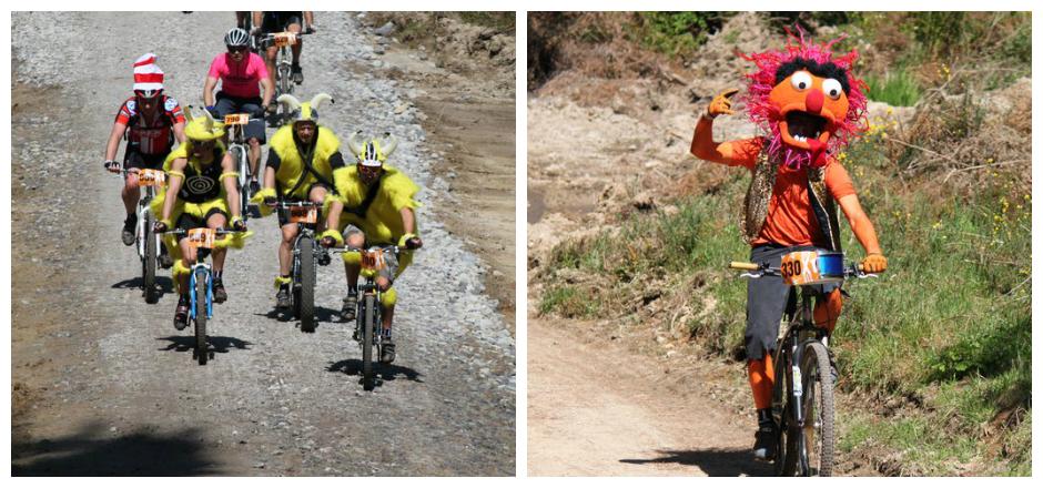 Un championnat du monde de VTT mono-vitesse, déguisé et complètement déjanté! Le récit de Laura lors de sa participation en Afrique du Sud en 2012.