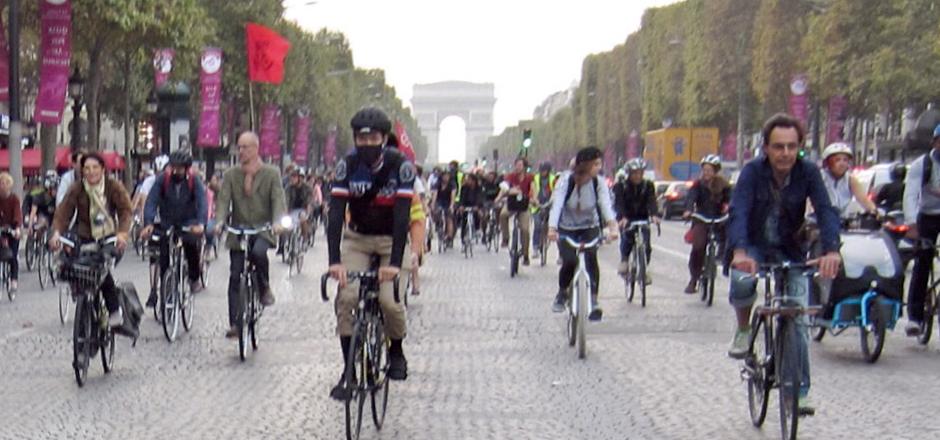 La semaine de la mobilité à Paris