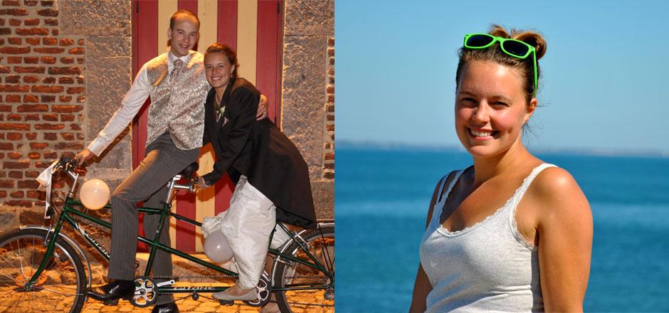 Marie-Alice: à vélo en ville, c'est la liberté!