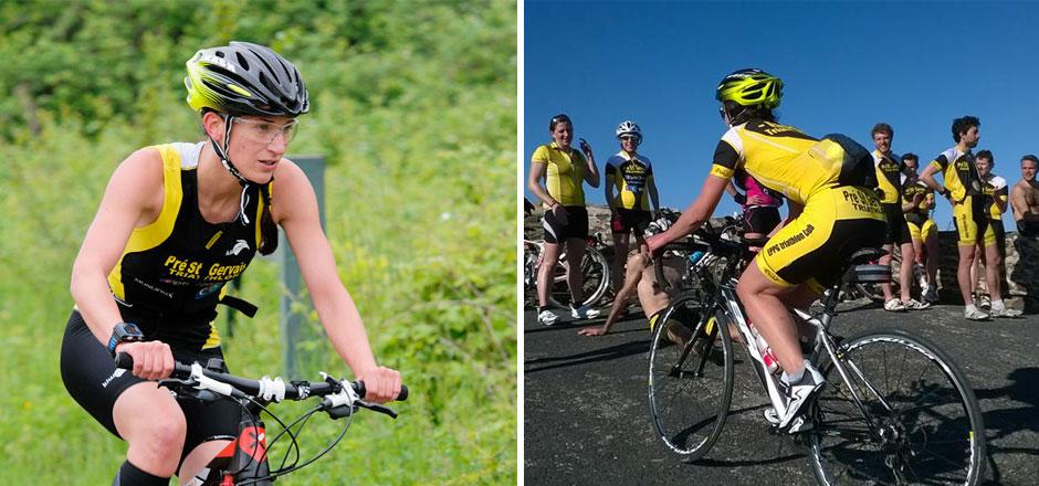 Pour Léonore, le vélo c'est du sport