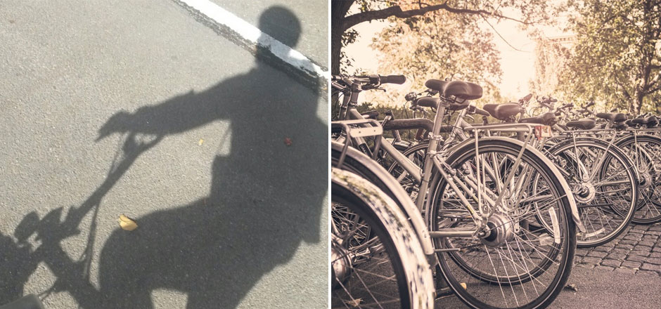 Marthe, jamais sans mon vélo