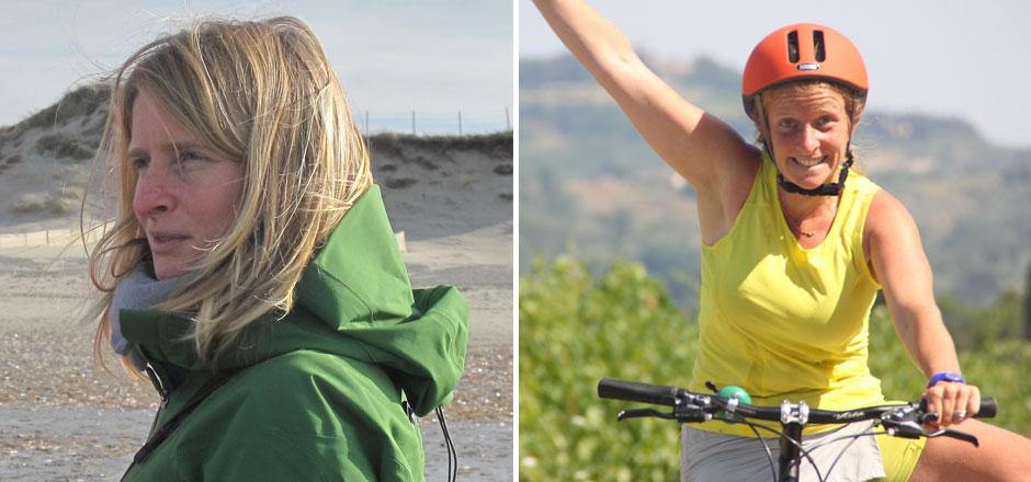 Peggy, le vélo contre vents et marées