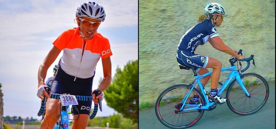Pour Mylène, l'auto-mesure permet d'adapter son entraînement à sa condition physique. Mais surtout, cela permet de progresser à vélo!