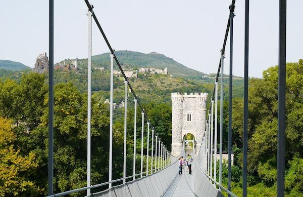 Pont suspendu de Rochemaure