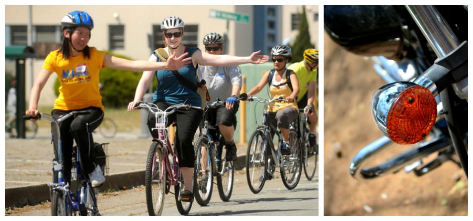 La visibilité du cycliste passe par une bonne communication avec les autres usagers de la route. Découvrez les bonnes pratiques pour un trafic fluide et sûr.