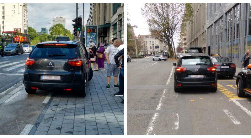 Signaler un taxi dangereux, pour le bien du cycliste!