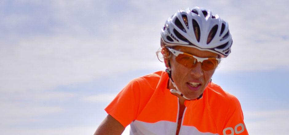 Mylène, l'adepte des courses de vélo cyclosportives
