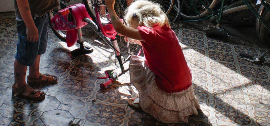 Un vélo pour 10 ans, toujours adapté à l'âge de l'enfant