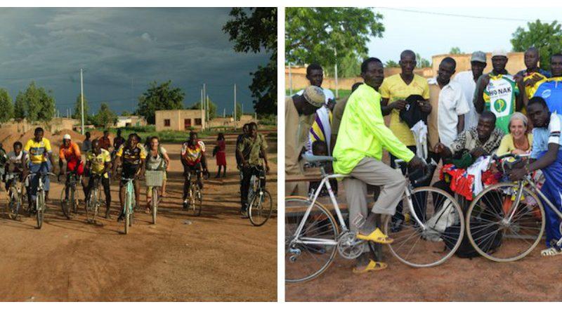De la solidarité cycliste pour faire rouler de manière autonome un club cycliste burkinabé, c'est le projet devenu réalité dans le village de Ziniaré!