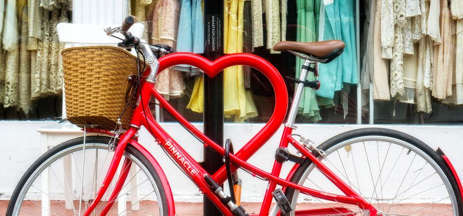Le vélo de la générosité