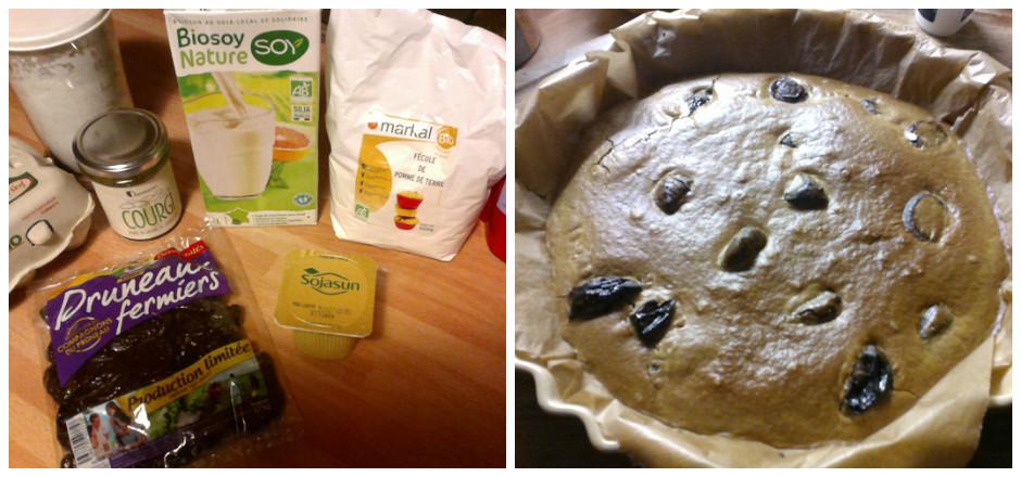Envie d'un clafoutis léger et sans gluten? Mulinsport vous a préparé une recette aux pruneaux et à la purée de graines de courge. Délicieux!