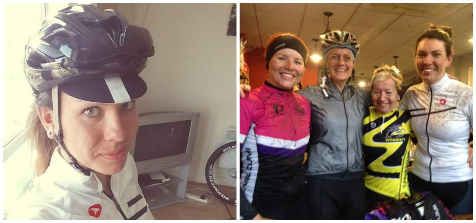 En à peine un an, Kelly Murphy est passée du statut de débutante à vélo à celui de coureuse sponsorisée, et pour la bonne cause en plus!