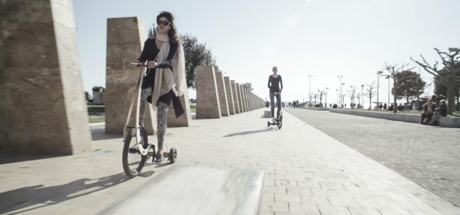 Qui n'a pas rêvé de pouvoir faire ces deux choses en même temps: courir et faire du vélo. C'est maintenant possible grâce au Halfbike!