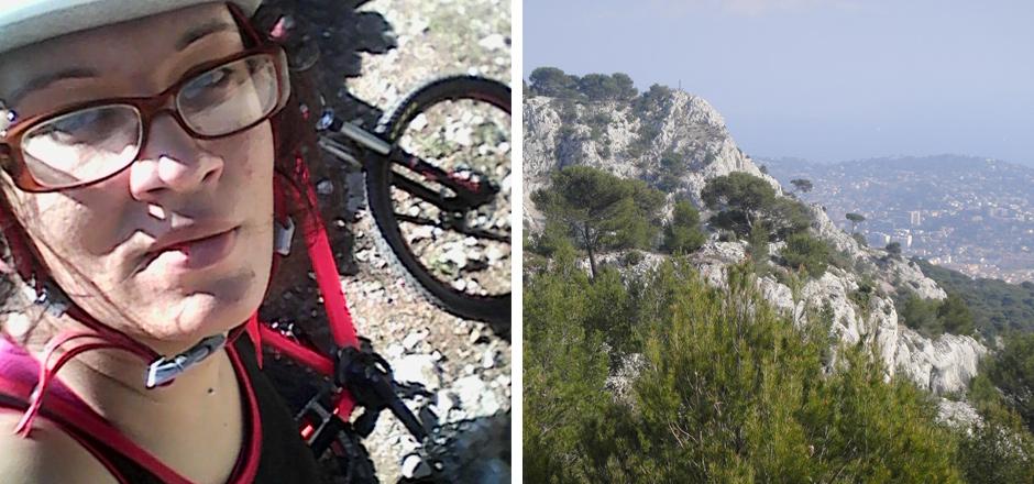 Amandine, le vélo dans la peau