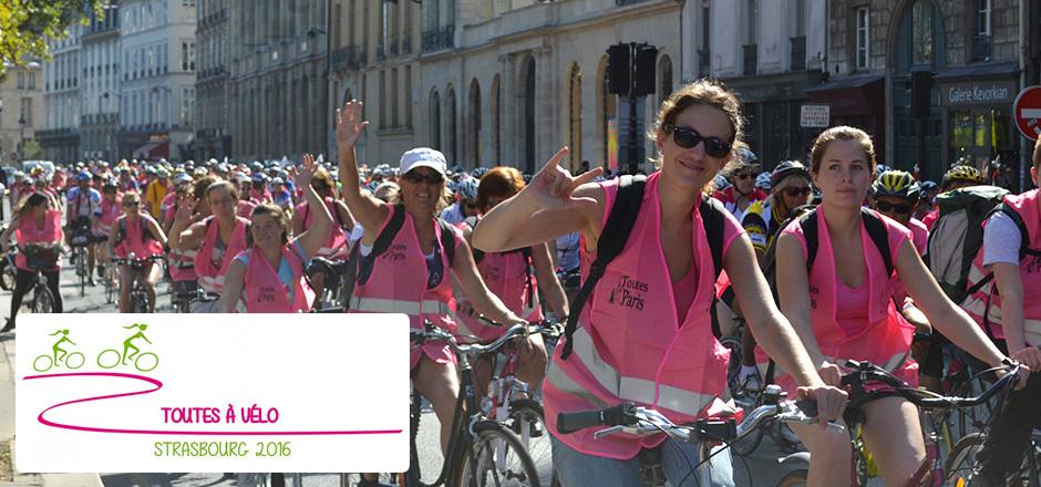 Claudine, un Toutes à vélo 2016 itinérant à travers champs