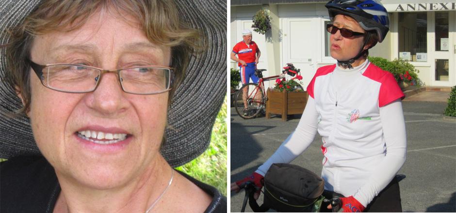 Catherine, un Toutes à vélo 2016 riche en émotions