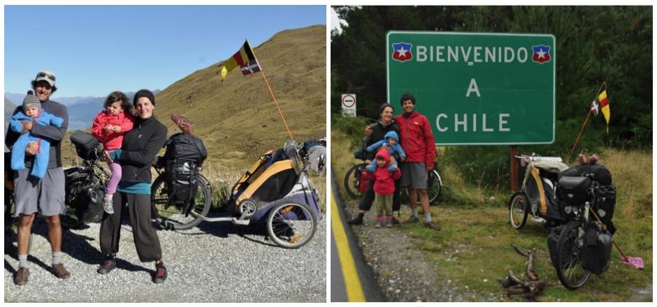 Fonder une famille à vélo à travers 55 pays et parcourir 75 000 km en pédalant... Découvrez la splendide histoire d'Alice et Andoni! Séquence émotions!