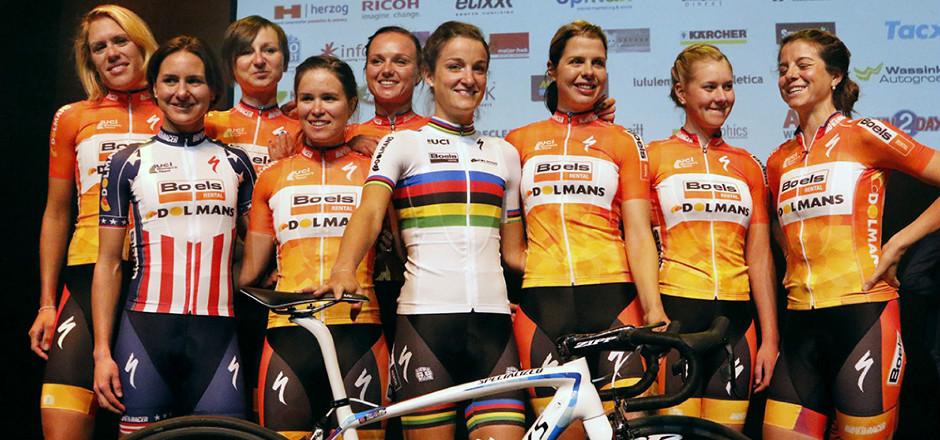 Specialized Women a invité quelques journalistes pour la présentation d'une équipe qu'elle sponsorise: Boels-Dolmans. EFDV y était!