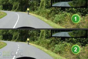 dépasser un cycliste