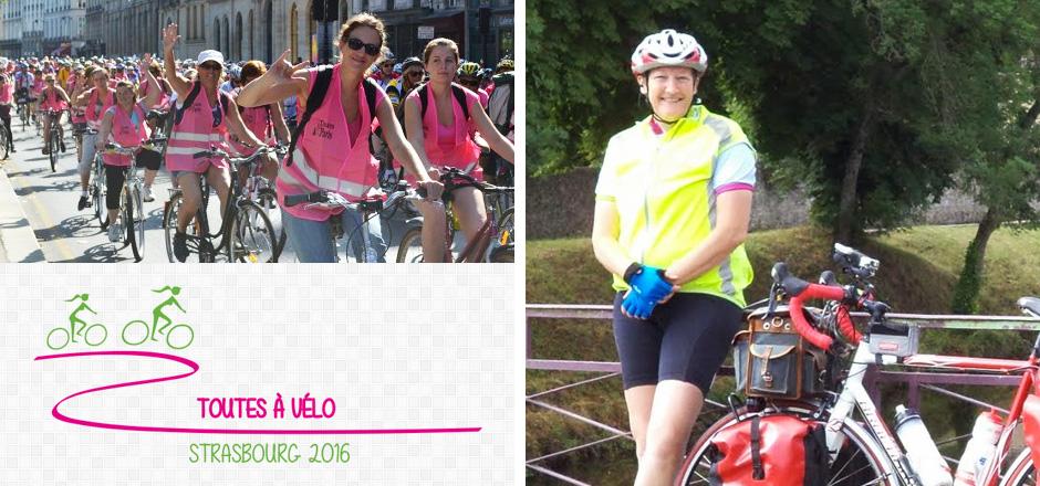 Véronique, le Toutes à vélo 2016 en cyclo-camping