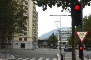 panneau de signalisation cycliste
