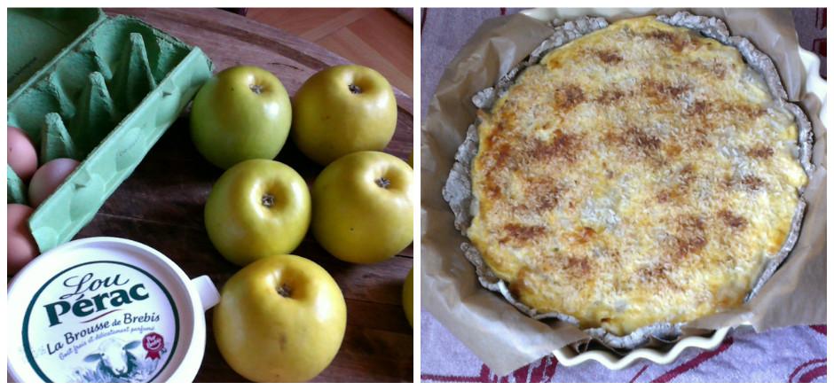 Mulinsport vous a concocté une recette sucré-salé: une bonne tarte pommes-cannelle à la brousse de brebis et sans gluten! Une recette exclusive à savourer au plus vite!