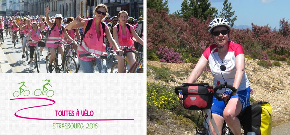 Véronique, un Toutes à vélo 2016 fort en symbole