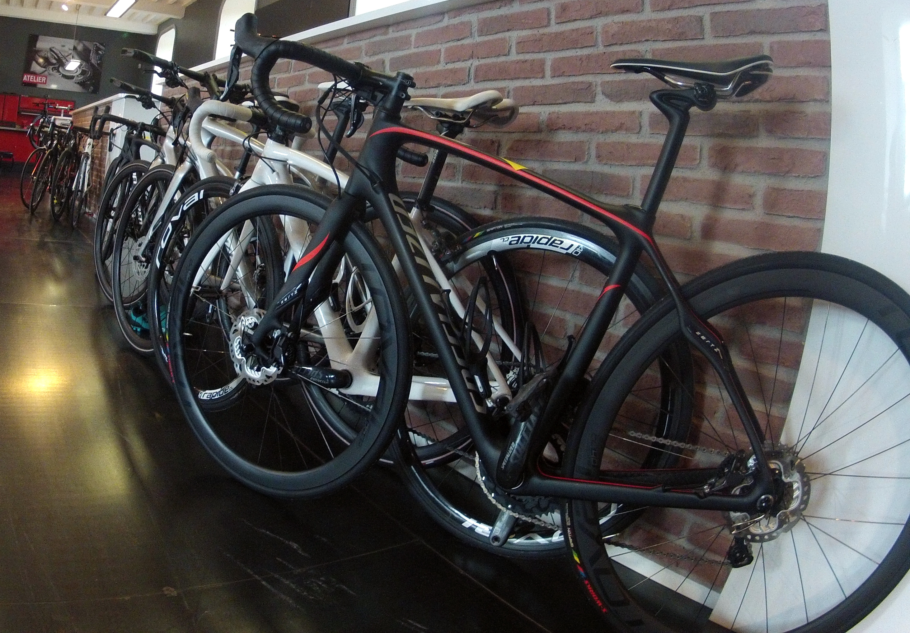 Nos vélos prêts à partir