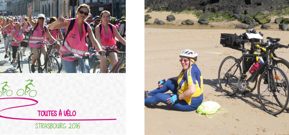 Ex-vélotaffeuse, Martine est aujourd'hui une retraitée active, cycliste depuis plusieurs années. Elle vous invite au Toutes à vélo 2016.